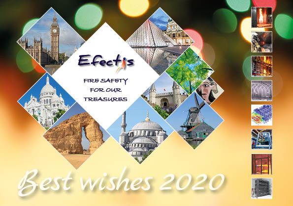 Efectis greeting card 2020