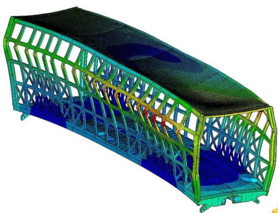 Deformation materiel roulant