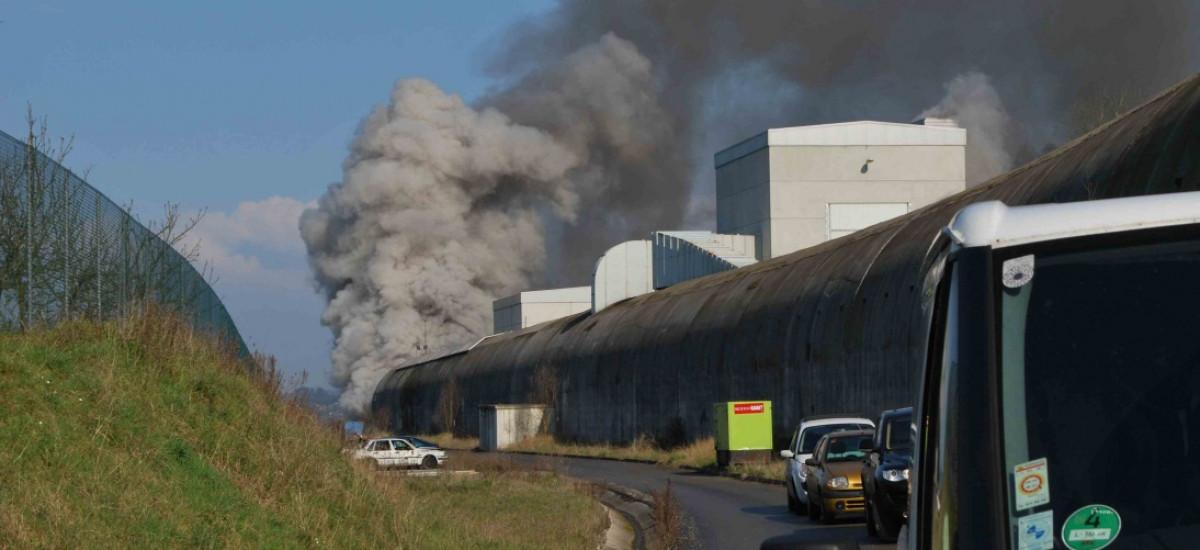 Campagne d'essais d'extinction en tunnel