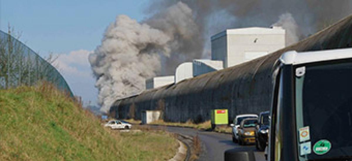 EFECTIS - Geniş Ölçekli Tünel Yangın Testlerinde Lider