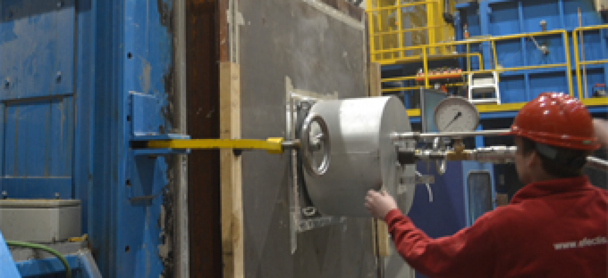 Prüfung von industriellen Brennern