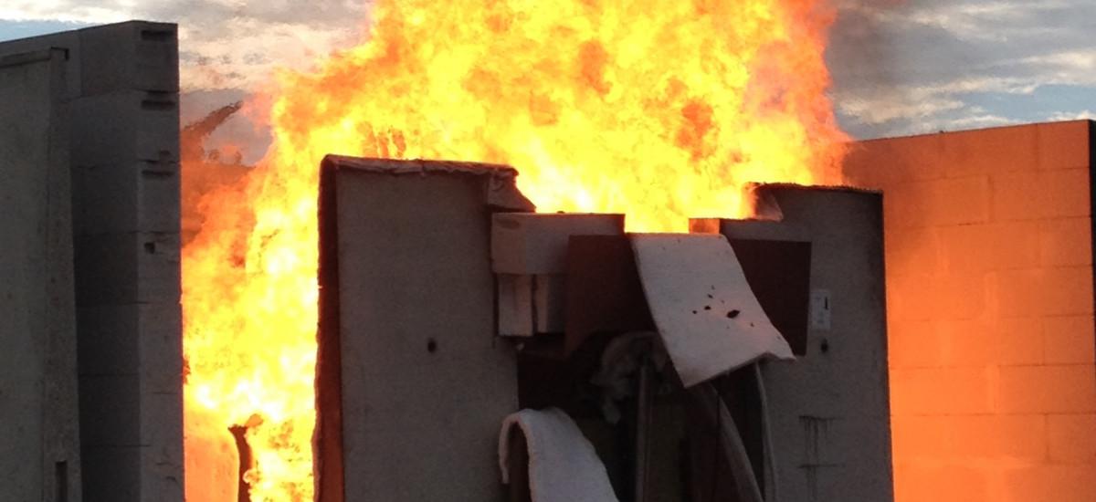 Jet Yangını Testi Başarı ile Sonuçlandı