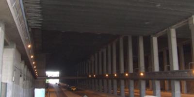 Étude du comportement au feu de la structure béton de la tranchée couverte du Merlan