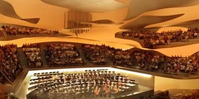 Philharmonie de Paris, étude d'ingénierie du désenfumage