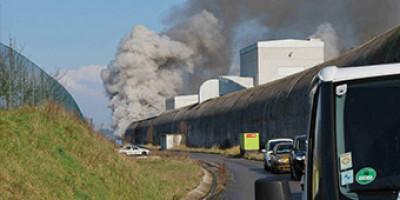 Efectis - leidend in grootschalige brandproeven in tunnels