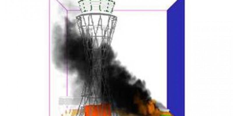 Duschanbe Kontrollturm