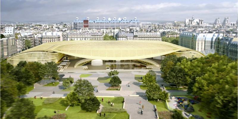 Paris Forum des Halles' de Duman Kontrol Sisteminin Yenilenmesi Üzerine Çalışma